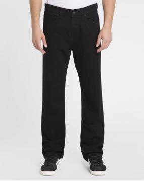 Jean Straight Fit Stretch Rochester Noir Lav