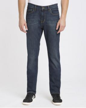 Jean Tapered Fit Stretch Desoto Bleu Fonc