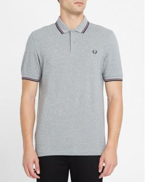 Polo Classic Slim Fit Gris Chin