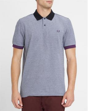 Polo Color Block Gris Chin