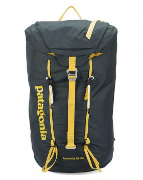 Sac Ascensionist Nylon 25L Carbon Jaune