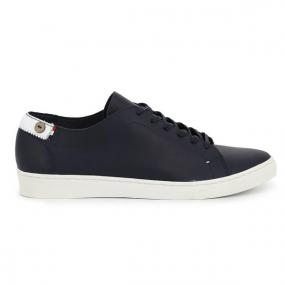 Sneakers Aspen Low En Cuir Marine