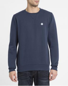 Sweat Col Rond Protected Bleu