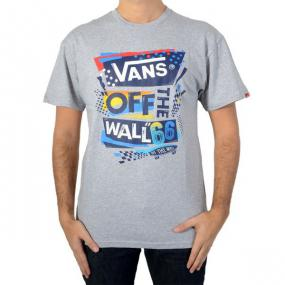 T-shirt Vans Stenciled II Athletic Heather / Blue Vwbzj0q