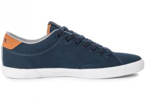 Tennis Angha Canvas Bleu Et Marron