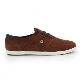 Tennis Cypress En Daim Terracotta